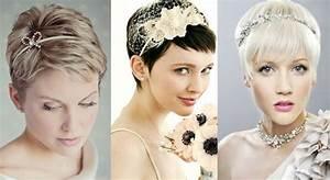 Coiffure Mariage Cheveux Court : mariage le top 35 des coiffures cheveux courts sur pinterest ~ Dode.kayakingforconservation.com Idées de Décoration
