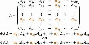 Determinante Berechnen 4x4 : cofator e teorema de laplace quando us los alunos online ~ Themetempest.com Abrechnung