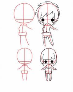 How to Draw Chibi Bodies, Step by Step, Chibis, Draw Chibi ...