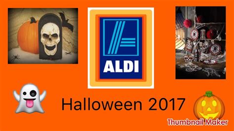 Aldi Halloween 2017 Full Release!