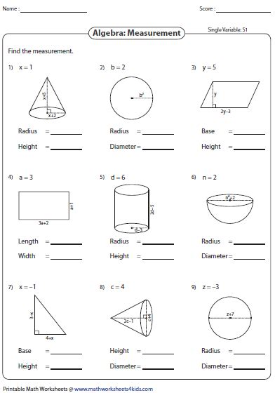 7th grade simplifying algebraic expressions worksheets
