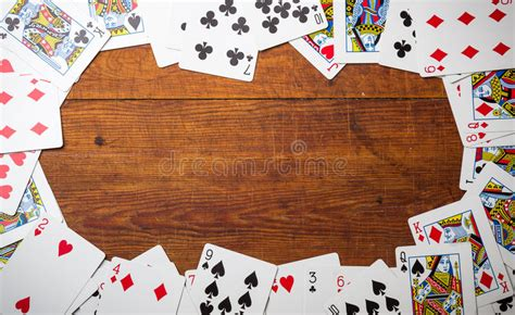 playing cards border stock photo image  gambling deal