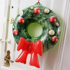 Weihnachtskranz Für Tür : aufblasbarer weihnachtskranz f r die t r online kaufen online shop ~ Bigdaddyawards.com Haus und Dekorationen
