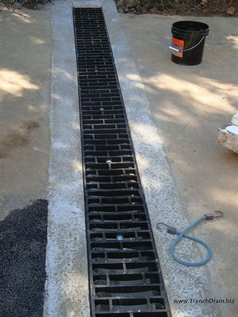 drainage for driveway best 25 trench drain ideas on pinterest trench drain systems linear drain and shower drain