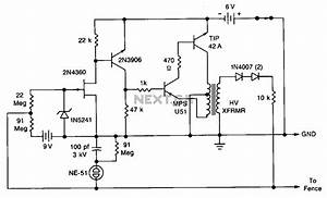gt security gt various circuits gt solid state electric fence With circuit and this can be use as to make a electric fence circuit is a