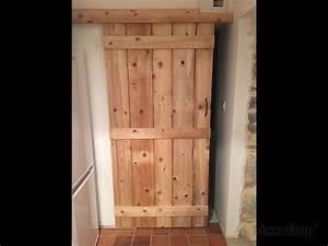 Porte Coulissante En Bois : porte coulissante en bois par sab ~ Melissatoandfro.com Idées de Décoration