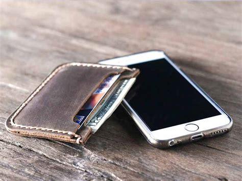 Kaos New York Abu Slim slim leather wallet for burberry handbags
