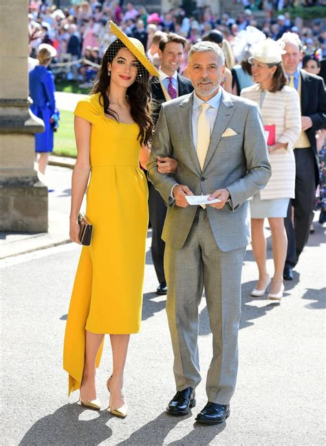 amal clooney dress  royal wedding  popsugar