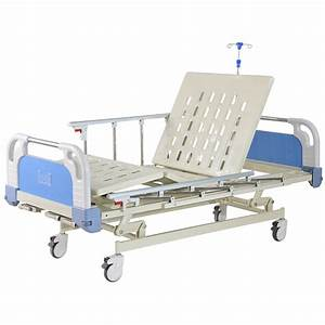China High Quality Medical Bed With Good Wheels Abs Crank