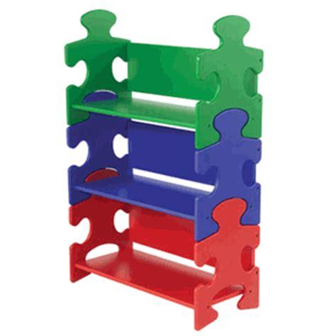 Puzzle Bookshelf For Kids