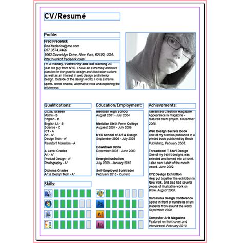 A Resume In Indesign by How To Create A Modern Cv Resum 233 With Indesign Spyrestudios