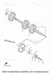 Yamaha Snowmobile 2004 Oem Parts Diagram For Track Drive 1