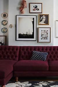 Les 4 Murs Bordeaux : murs avec les couleurs tendances de la rentr effdesigner ~ Zukunftsfamilie.com Idées de Décoration