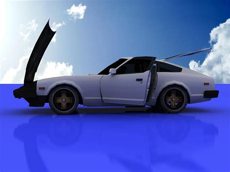 Datsun Models by Nissan Datsun 280z 3d Model Flatpyramid