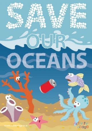 save  oceans poster ocean day oceans   world ocean coloring pages