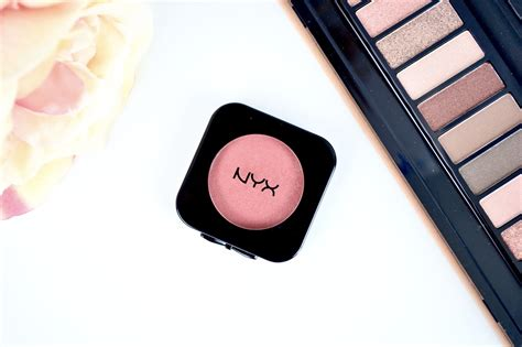 nyx high definition blush intuition review swatches