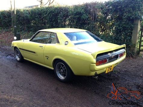 1975 Toyota Celica by 1975 Toyota Celica St 1 6 Manual Coupe In Yellow Fully