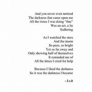 Depression Quote TWLOHA Pinterest Darkness