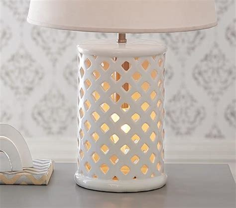 white  gold lattice accents desk