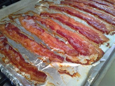 oven bacon oven bacon in oven