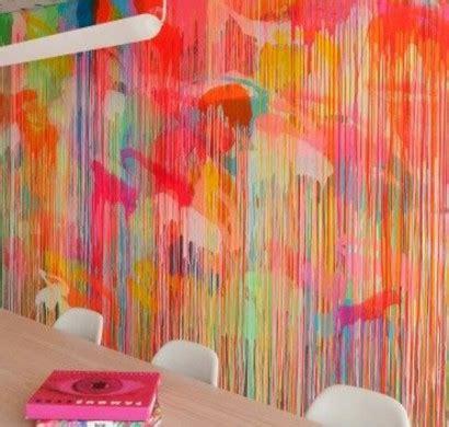 tolle wandgestaltung mit farbe  wand streichen ideen