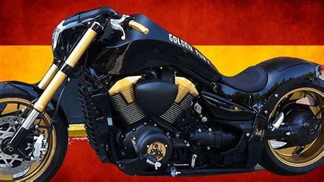 suzuki intruder m1800r suzuki intruder m1800r boulevard m109r quot golden fury quot by free kustom cycles motorcycle
