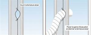 Gaine Evacuation Climatiseur Mobile : calfeutrer une fen tre pour climatiseur ooreka ~ Edinachiropracticcenter.com Idées de Décoration