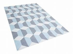 Teppich Grau Blau : teppich blau grau hause deko ideen ~ Indierocktalk.com Haus und Dekorationen