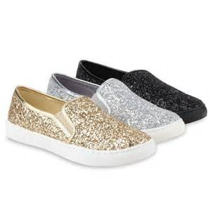 brautkleid outlet details zu damen sneakers slipper slip ons glitzer skaterschuhe flats 78349 flache