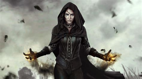 yennefer  witcher  wild hunt wallpapers hd