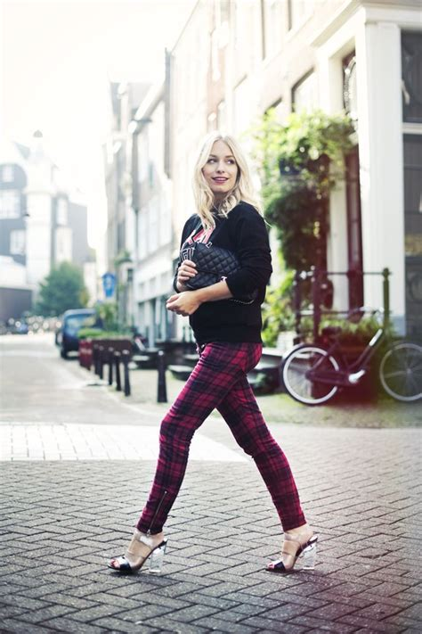 stylish plaid clothing trends  fallwinter pretty