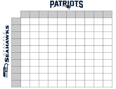 free printable football squares template 7 best images of printable football pool chart printable football pool master sheets