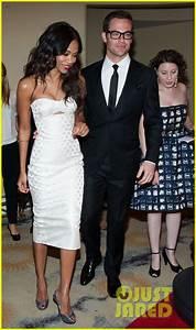 Chris Pine & Zoe Saldana: Academy Tech Awards 2013: Photo ...