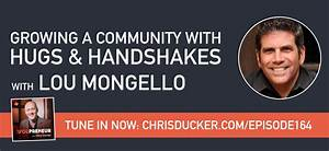 YOU164 – Growing A Community With Hugs And Handshakes ...