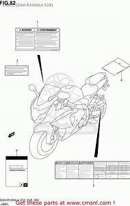 Manual Owner U0026 39 S For Gsxr1000 2014  L4  Usa  E03