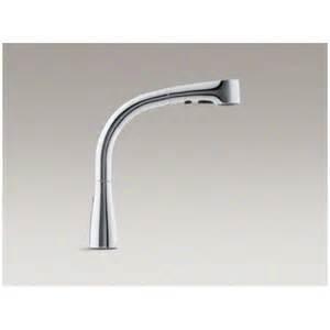 kohler single handle kitchen faucet kohler elate pullout kitchen faucet reviews wayfair