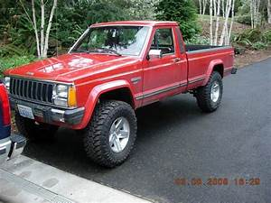 Lifted Jeep Comanche