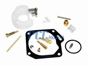 Carburetor Carb Repair Rebuild Kit Jog 50cc 1p40qmb