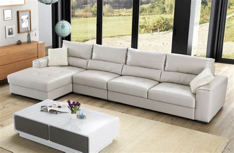 Living Room Set Covers by Top Grade Latest L Shaped Sofa Designs Leather Material