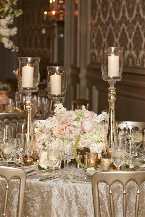 reception d 233 cor photos pillar candles around white