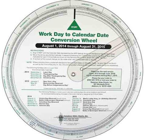 date wheel calculators forecasters scheduling wheels datalizer