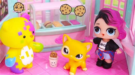 lol surprise doll cries  ice cream cookie swirl toy