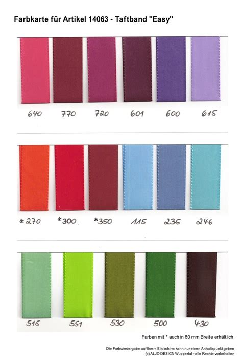 Farbe Kombinieren by Farben 14063 Taftband Easy 2 Geschenkband Discount