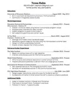 resume the blueprint idea