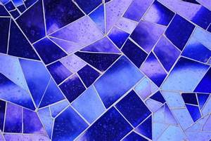 Mosaic Texture in Blue Glass by chamberstock on DeviantArt