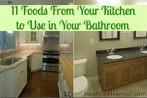 11 kitchen beauty and cleaning items for your bathroom With food to go to the bathroom