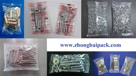 automatic hardware packing machine  screwboltnut  accessory  counting system youtube