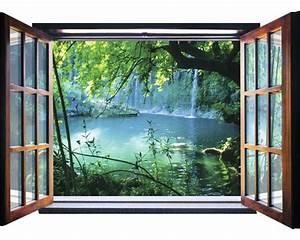 Fenster Kaufen Bei Hornbach : fototapete 1937 vez4xl vlies fenster wasserfall 201 x 145 cm bei hornbach kaufen ~ Watch28wear.com Haus und Dekorationen