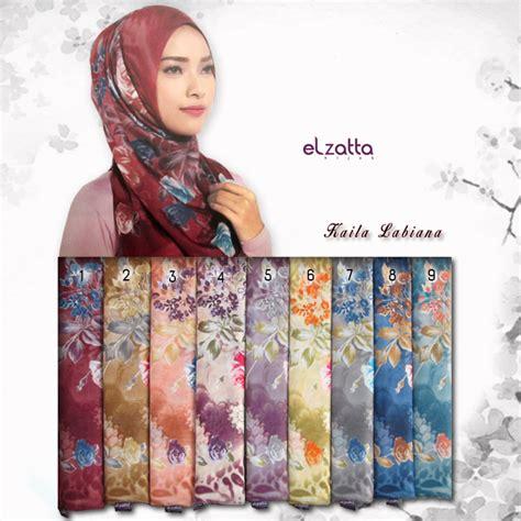 jual kerudung jilbab segiempat jilbab segiempat motif bunga mawar elzatta kaila labiana