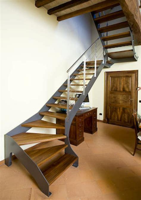 scale interne ferro scale interne in ferro pedate in legno alfa scaleafascale
